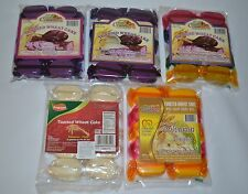 TOASTED WHEAT CAKE POLVORON 1 PACK 10PCS PRODUCT OF THE PHILIPPINES