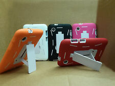 """For Samsung Galaxy tab 2 7"""" Tablet Heavy Duty Hard Defender Kickstand Cover Case"""