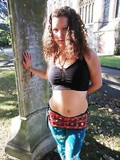 Psytrance Womans Top Festival Party Forest Pixie Elfling Hippy Carnival Wear