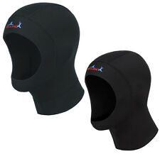 1mm & 3mm Neoprene Man & Woman Scuba Diving Cap Scuba Diving Divers Cap Black