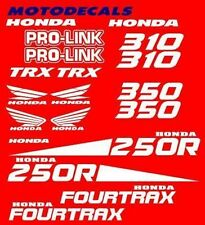 Stickers Decals Graphics For TRX250R TRX 250 R  250R Fender Hood Plastics Tank