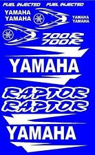 Stickers Decals Graphics Kit for Yamaha Raptor 700 Fender Hood Tank Tank Emblems