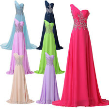 Elegant Lady Cocktail Evening Bridesmaid Ball Gown Prom Party Long Maxi Dress JS