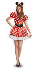 Womens Red Minnie Mouse Classic Halloween Costume