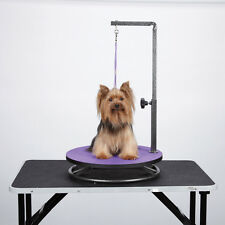 Master Equipment Small Pets Dogs Cats Grooming Table Rotating Non-Slip 3 Colors