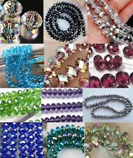 Wholesale New 12 Colors Swarovski Crystal Loose Beads 4x6mm /6x8mm