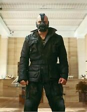 NEW BANE THE DARK KNIGHT RISES - 100% REAL LAMBSKIN BLACK LEATHER JACKET