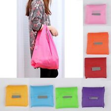 New stylish Foldable Storage Grocery Bag Eco Friendly Reusable Shopping Tote