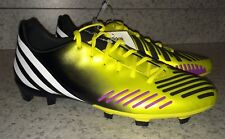 NEW Mens Sz 6.5 ADIDAS Predator Absolion LZ TRX FG Yellow Soccer Cleats Boots