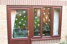35 snowflakes christmas decorative window wall car Vinyl Stickers Any Colour