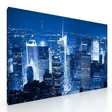 "Large New York Canvas Picture Print Arkwork. 20""x30"". NY City Skyline. Wall Art."