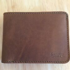 Saddleback Leather Bifold Wallet - NEW - Full Grain - MULTIPLE SIZES & COLORS