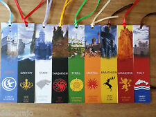 ★ Game Of Thrones Bookmark - 9 Different Styles ★