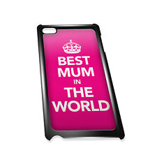 Cover for iPod 4G case #018 Best Mum in the World Gift Idea Mothers mam Gift