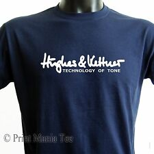 HUGHES & KETTNER T-SHIRT guitar tube amplification - ALL SIZES - 5 COLORS