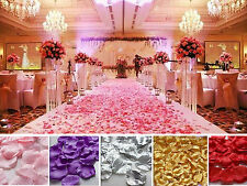 wholesale wedding props rose petals rose flowers marriage room decoration