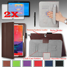 """For Samsung Galaxy NOTE Pro 12.2"""" PU Leather Case Cover Stand + Gift Accessories"""