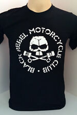 Black Rebel Motorcycle Club rock band BRMC handmade black t shirt size XL