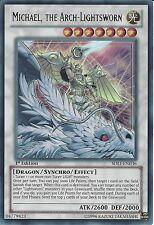 YU-GI-OH: ULTRA RARE - MICHAEL, THE ARCH-LIGHTSWORN - SDLI-EN036 1ST EDITION
