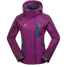 New Womens Girls 3in1 Outdoor Waterproof Breathable Hiking Travel Hooded Coat