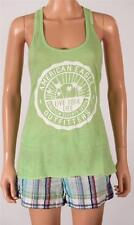 American Eagle Outfitters AE Bright Graphic Tank Top Womens Green Tee Shirt NWT