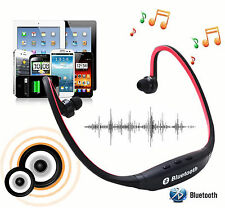 B2 Wireless Bluetooth Back Stereo Headset headphone for iPhone 6 6+ LG SAMSUNG