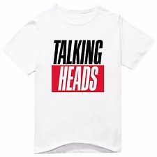 Talking Heads Rock Music Band Tee T-Shirts Unisex Mens Womens 100% Cotton TH003