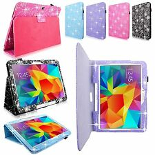 """For Samsung Galaxy Tab 4 10.1"""" inch T530 Pu Leather Flip Folio Stand Case Cover"""