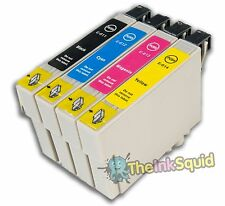 "1 Compatible Epson ""TeddyBear"" T0611-4 (T0615) Non-oem Ink Cartridge"