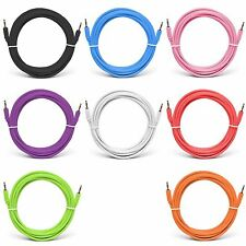 New 3ft Audio Auxiliary Cable Cord Jack, For Car Stereo and iPod and iPhone