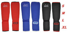 Austodex Shin Instep Protectors Foot legs Guards Pads kick Boxing MMA Muay Thai