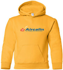 Aircalin Vintage New Caledonian Airline Logo HOODY