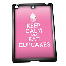 Cover for iPad Air case #200 Keep Calm and Eat Cupcakes Funny Gift Idea Food