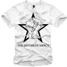 E1SYNDICATE T SHIRT THE SISTERS OF MERCY CURE CLASH WHO CD DVD KONZERT S/M/L/X