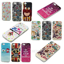 Hot Sale Cartoon Owl Pattern Soft Rubber TPU Protect Skin Back Case Cover