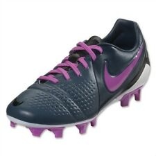 NEW Womens 6.5 NIKE Trequartista III 3 FG Grey Dk Blue Pink Soccer Cleats Boots
