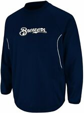 Milwaukee Brewers Majestic Authentic Therma Base Tech Fleece Big & Tall Sizes
