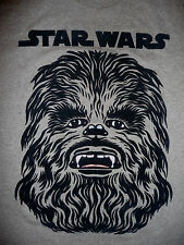 Star Wars Chewbacca T-Shirt (Face is done in Black Velvet) Sizes Small - 3XL NEW