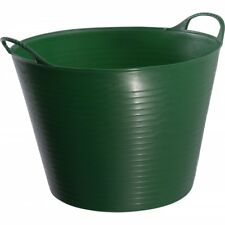 Wm Faulks Tubtrug Feed Bucket / Flexible Bucket Green