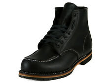 [9015] RED WING RED WING MOC TOE BOOTS BLACK LEAHTER MEN'S SIZE 7 TO 9  NIB
