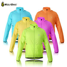 2014 Green Tour de France Cycling Bike Wind Coat Long Sleeve Windproof Jackets
