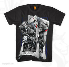 OG Abel Men's Battle Kings T Shirt Black  Tattoo Streatwear Art Hip Hop Urban