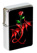 Rose Dragon Flip Top Lighter