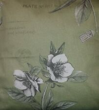 "Green Botanical Floral Cushion Cover Matches Next Curtains 14"" 16"" 18"" 20"""
