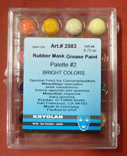 Kryolan Rubber Mask Grease Paint Mini Makeup Palette Theatrical Make-Up 2583