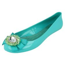 Ladies f8805 jelly flat shoes by spot on retail price £5.99