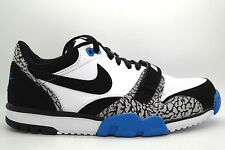 [637995-102] NIKE AIR TRAINER 1 LOW ST MENS SNEAKERS NIKEWHITE/BLACK-LT PHT BL-