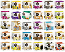 Nescafe Dolce Gusto - 29 Different Flavors - Capsules Coffee pods K-Cups Capsule