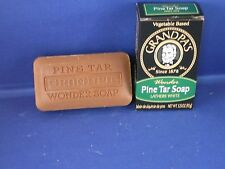 GRANDPA'S BRAND PINE TAR SOAP ASSORTED SIZES PICK YOUR BAR SIZE MADE IN USA