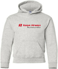 Kenya Airways Vintage Kenyan Airline Logo HOODY